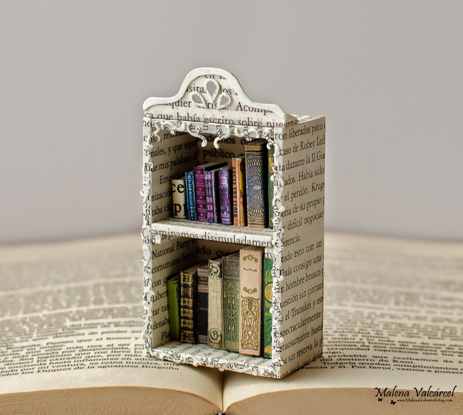 Diminutos Libro Miniature Books In Library Miniatures Pinterest