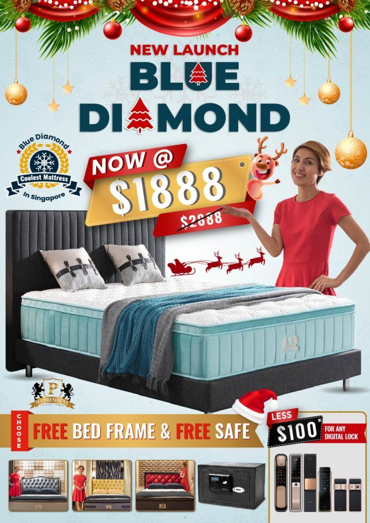 Christmas Promotion for Coolest Mattress in Singapore