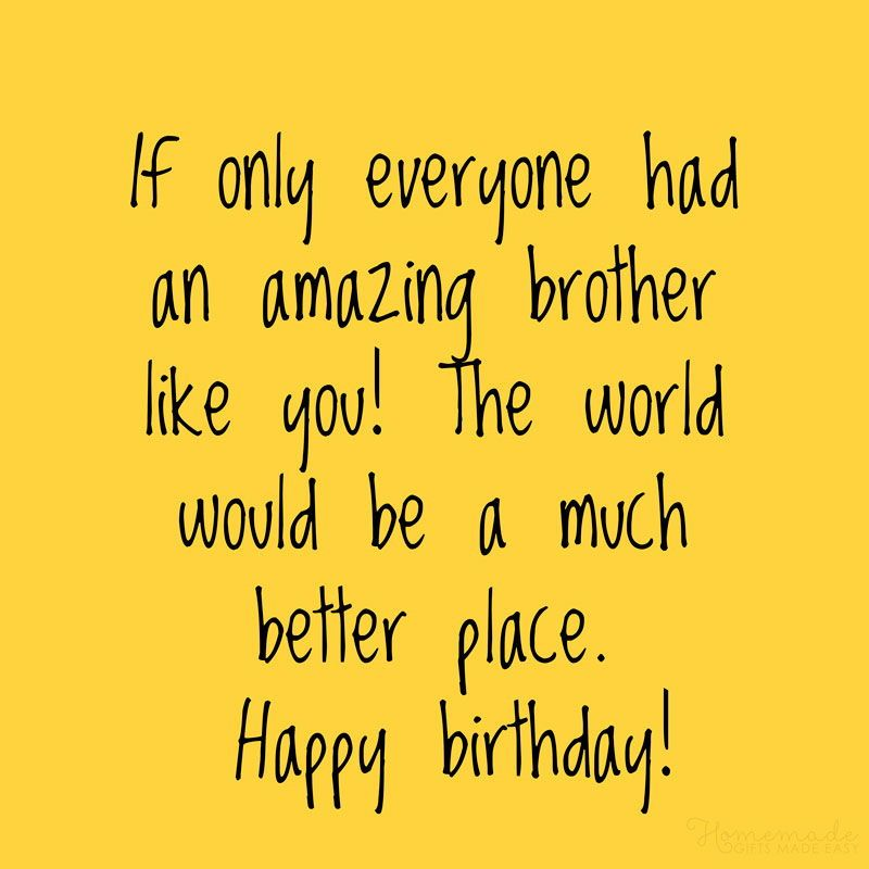 150 Happy Birthday Wishes For Brother Best Funny Heart