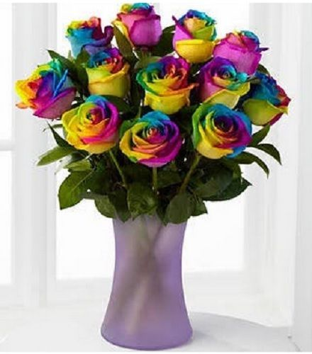 Rainbow Roses 15 Ftd Coupon Code Flowers Bouquet Roses Plants Floral Gifts Exp 12 31 14 Rainbow Roses Rose Bouquet Rainbow Bouquet