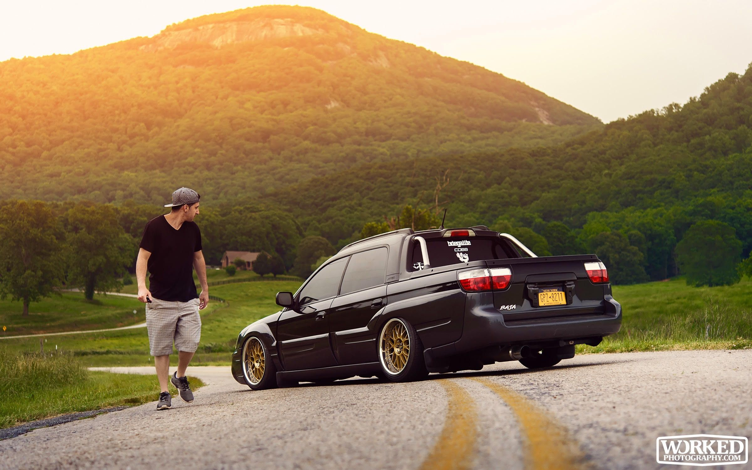 My Stanced And Bagged 2005 Subaru Baja Is Almost As Awesome As A 2016 Wrx Sti Subaru Baja Subaru Subaru Cars