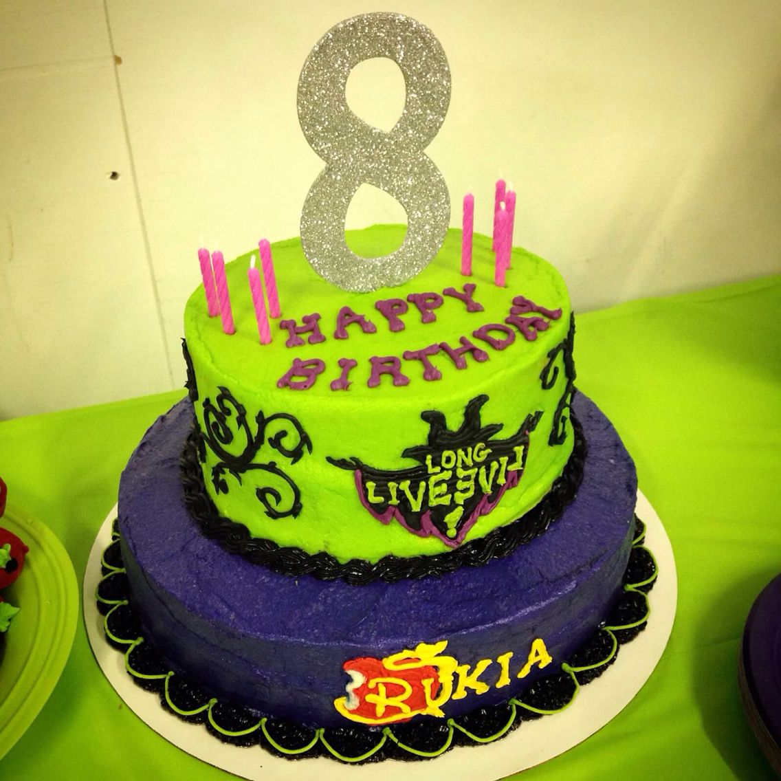 Descendants cake My cakes and cupcakes Pinterest ...