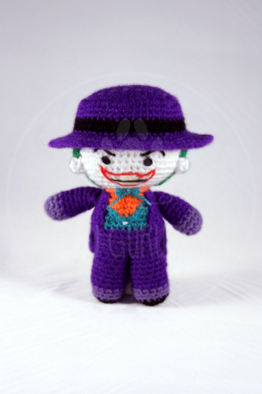 Batman Amigurumi - Crochet Doll - DC Comics - Knitted Superhero ...   3000x2001