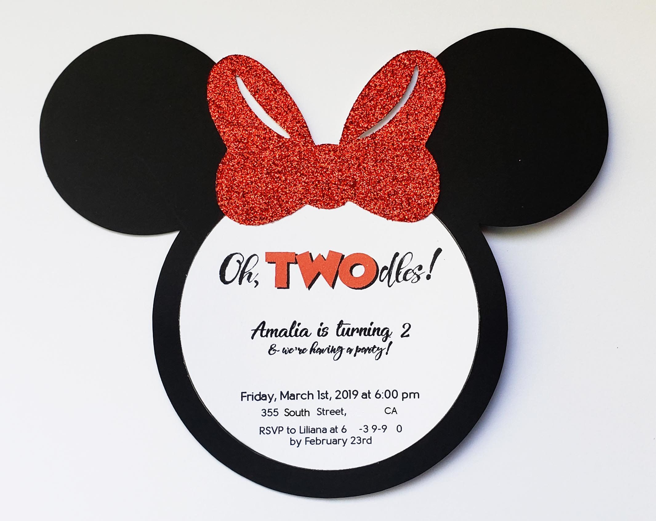 oh twodles minnie mouse birthday