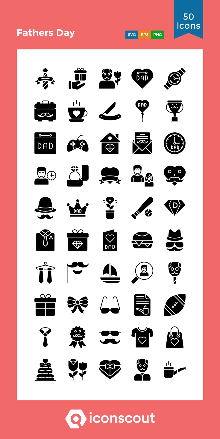 Download Fathers Day Icon Pack Available In Svg Png Eps Ai Icon Fonts Icon Pack Glyph Icon Icon