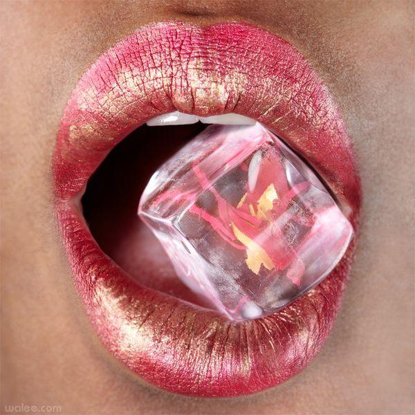 pink lip ice