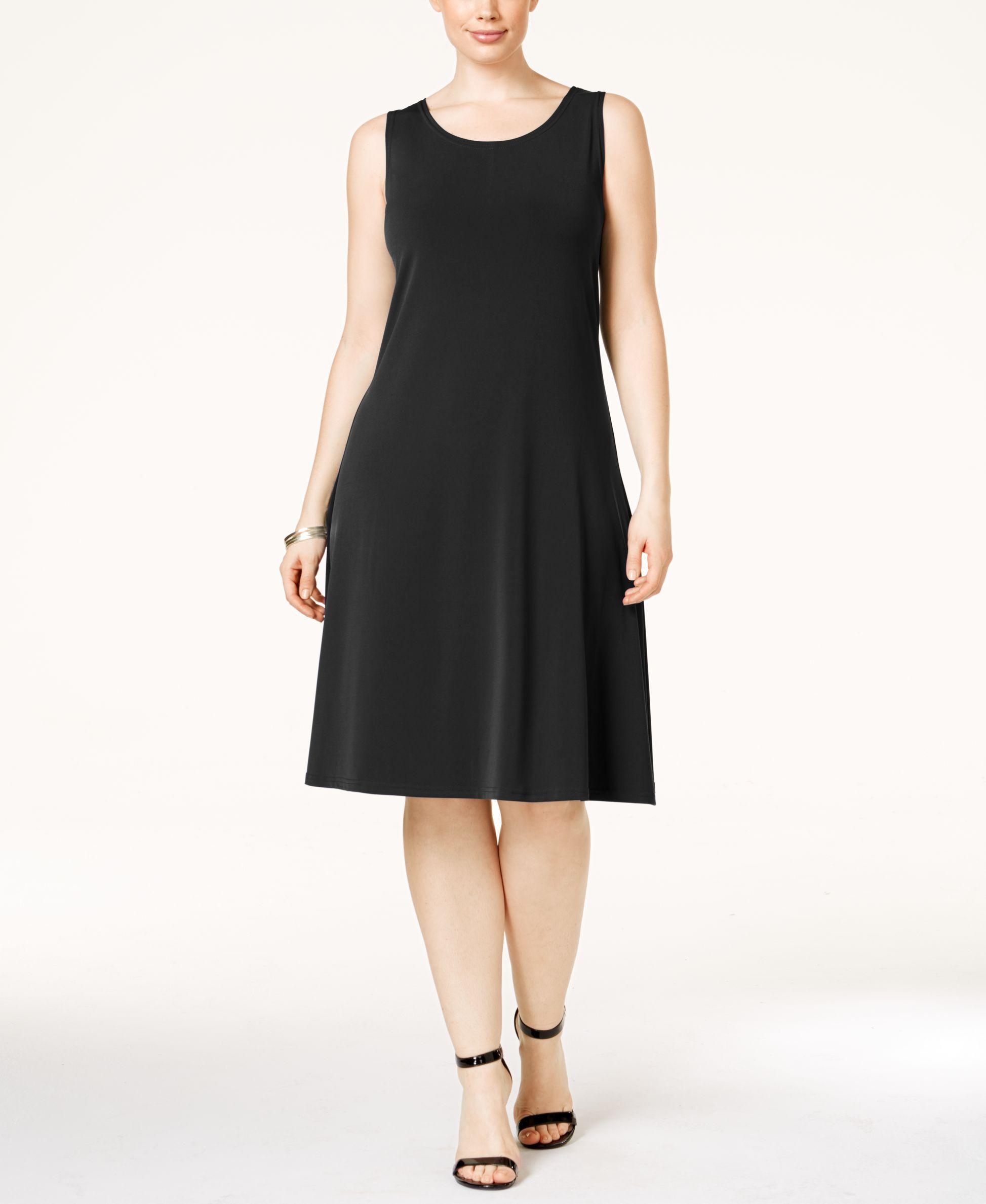 Alfani Plus Size Sleeveless A Line Dress ly at Macy s