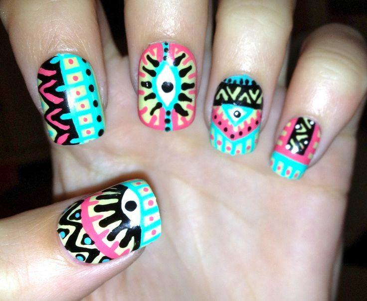 40 Nuevas ideas para decorar uñas en el 2016 – Nail art   Decoración ...