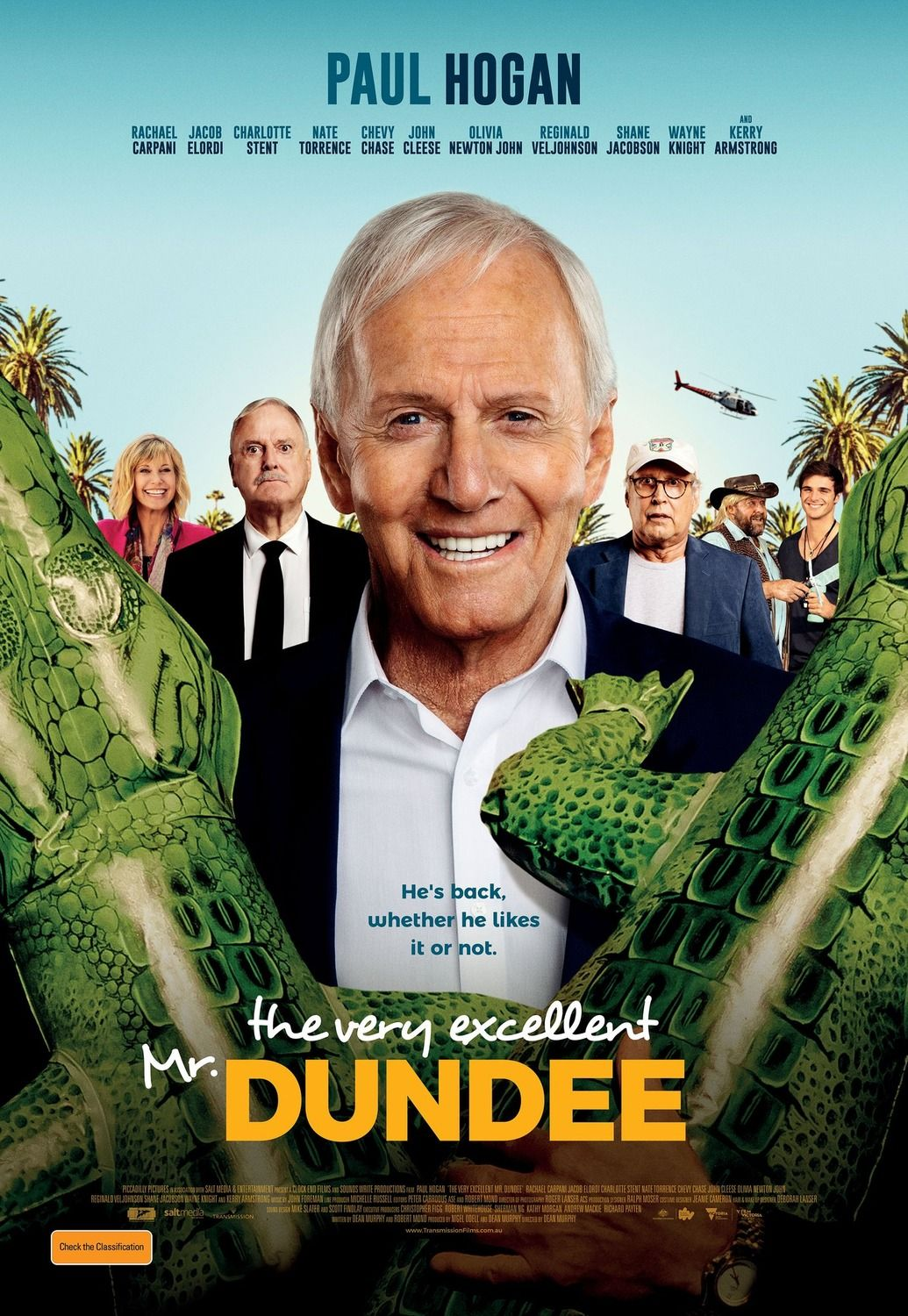 Paul Hogan Is Back In The Very Excellent Mr Dundee Trailer In 2020 Dundee Paul Hogan Luke Hemsworth
