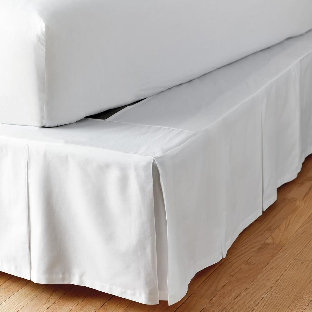 Elastic Bed Skirt Cover Dust Ruffle Wrap 14 Drop Twin Full Queen King 20 Colors Ebay Bedskirt Color Dust Ruffle
