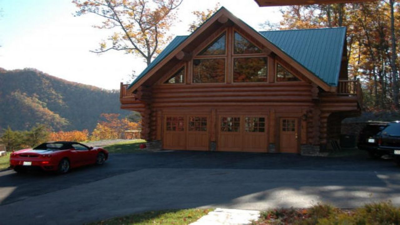log cabin with garage apartment plans Home Design – Log Garage Apartment Plans