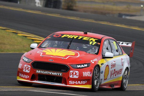 Scott Mclaughlin Drives The 17 Shell V Power Racing Team Ford