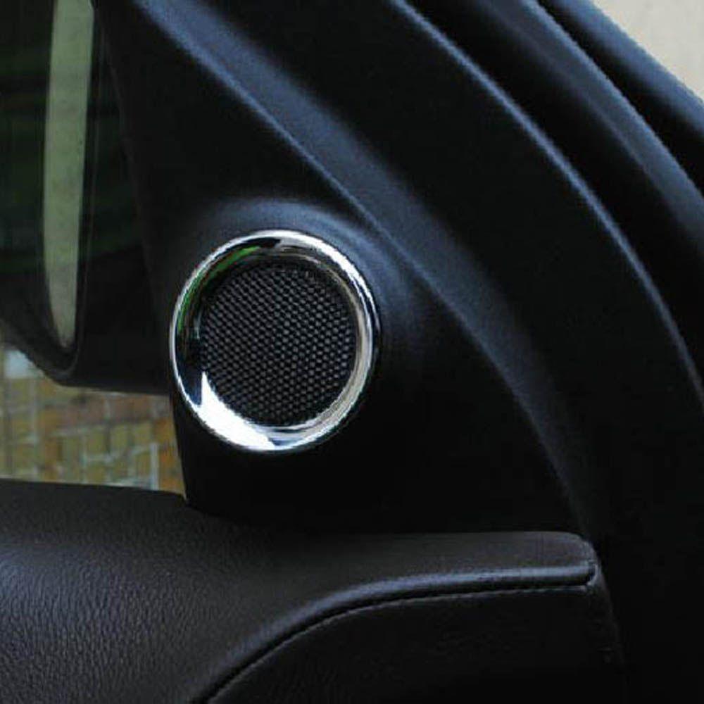 inner door A pillar tweeter woofer speaker horn cover trim frame sticker for jeep grand cherokee & inner door A pillar tweeter woofer speaker horn cover trim frame ...