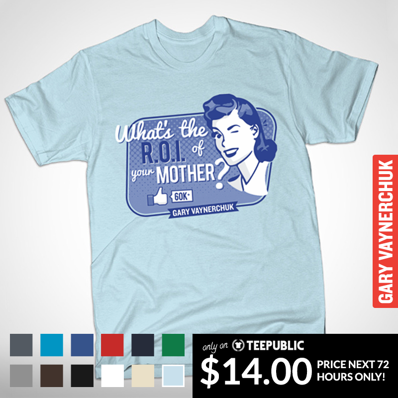 Whats The ROI of Your Mother ..... The T SHIRT!  live for the next 72 hours  https://www.teepublic.com/show/48858-the-roi-of-your-mother … pic.twitter.com/CMQEQrxu8z