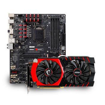 Msi Gtx 970 Gaming 4g Z97 Gaming5 Motherboard Bundle Image 1
