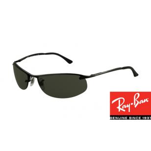 0b369504ee Fake Ray-Bans RB3179 Top Bar Oval Sunglasses Black Frame sale