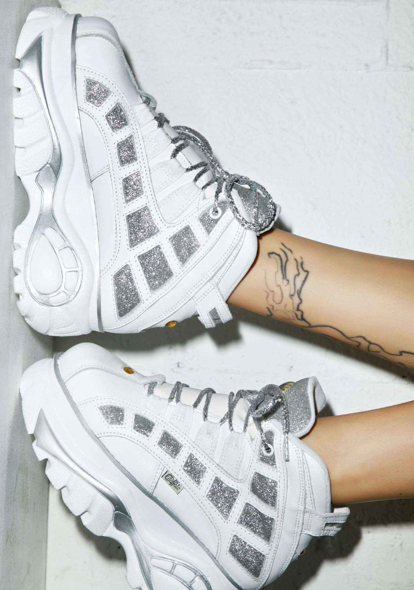 new styles eca6e a1352 Buffalo SPARKLE PLATFORM SNEAKER #chunkyshoes | Women Shoes ...