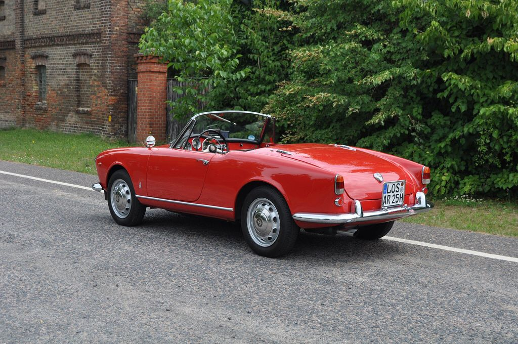 alfa romeo giulietta spider 1960 alfa romeo classic. Black Bedroom Furniture Sets. Home Design Ideas