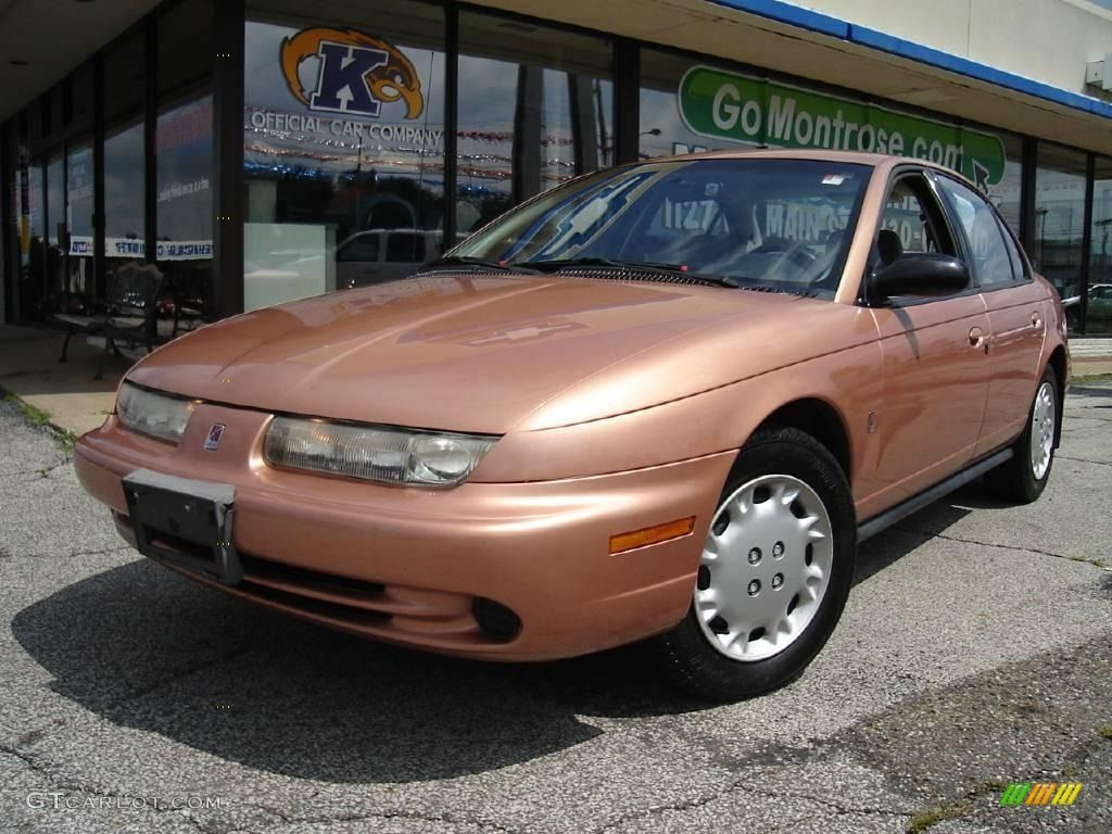 1996 Copper Saturn S Series Sl2 Sedan