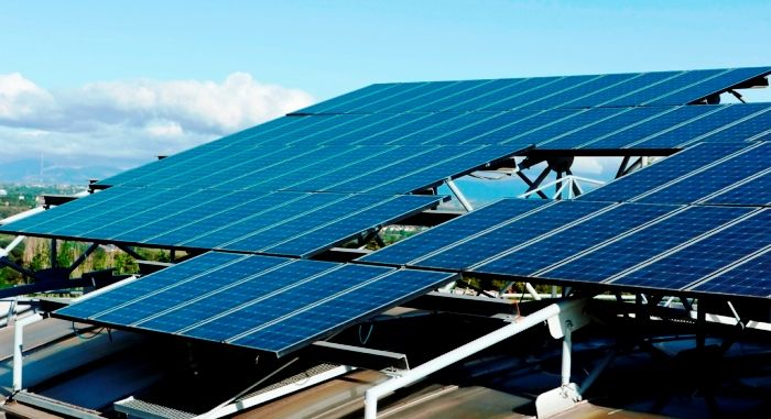 A Solar Energy Installation At The Technical University Of Madrid Solar Solar Energy Solar Energy Projects