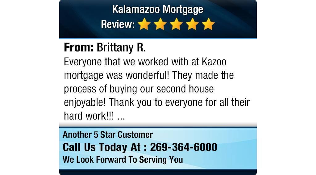 """5 Star Brittany R. """"Everyone that we worked with at Kazoo"""