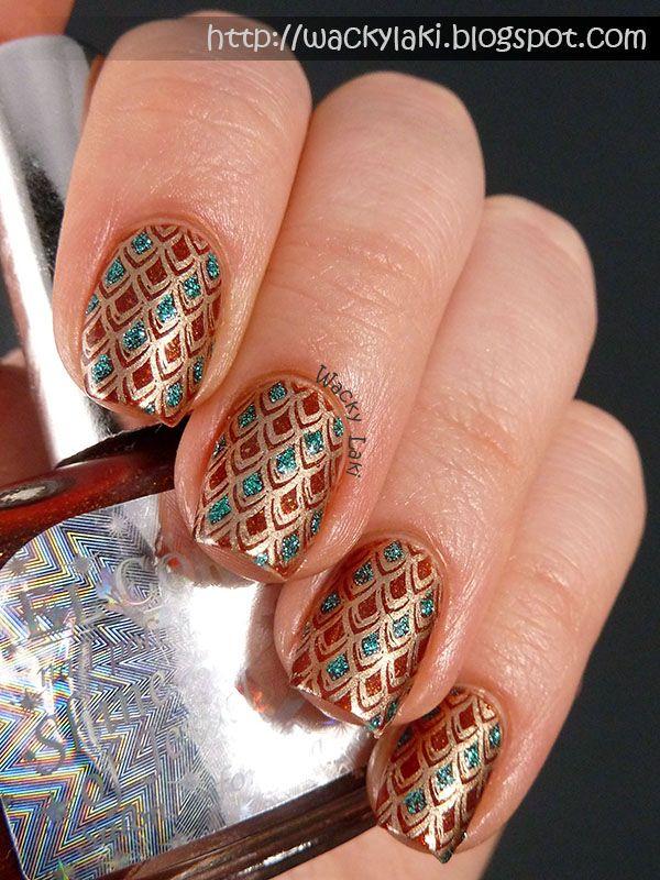 El Corazon Shine Of Jewels Wacky Laki Fashion Pinterest Nail