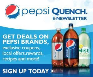 Is Pepsi Products The Choice Of Drink In Your Household Sign Up For The Pepsi Quench Newsletter To Receive Coupons Pepsi Natural Cheese The Krazy Coupon Lady