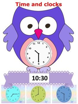 Owl Time And Clocks Powerpoint Presentation End Of The Year Activities Interactive Powerpoint Presentation Interactive Powerpoint Teaching Resources Primary