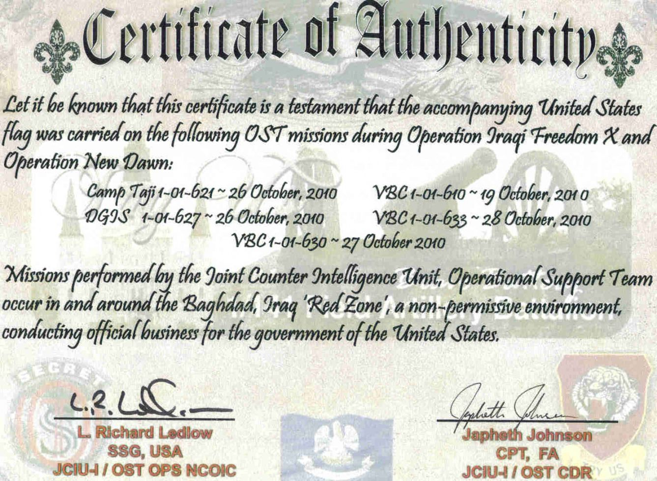 Browse Our Example Of Flag Flying Certificate Template Free Gift Certificate Template Gift Certificate Template Templates