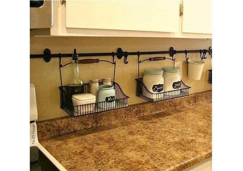 Love this idea! | cocina | Pinterest | Cocinas, Orden en casa y ...