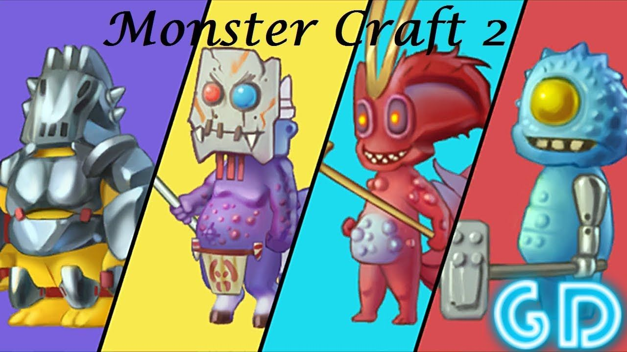 Monster Craft 2 Gameplay Android | Best Android & iOS Games