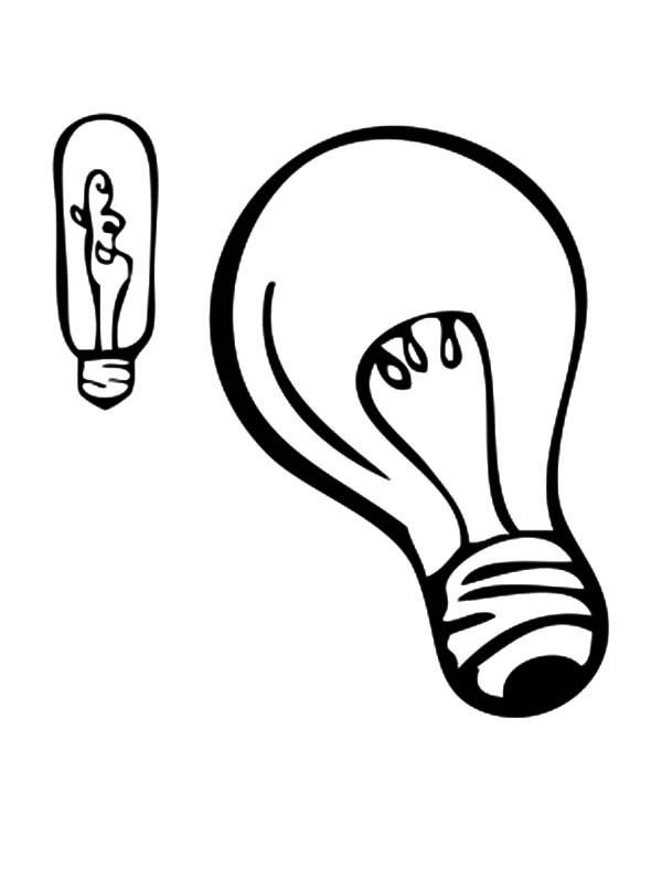 Halogen Light Bulb Coloring Pages Download Print Online Coloring Pages For Free Color Ni Coloring Pages Minnie Mouse Coloring Pages Online Coloring Pages