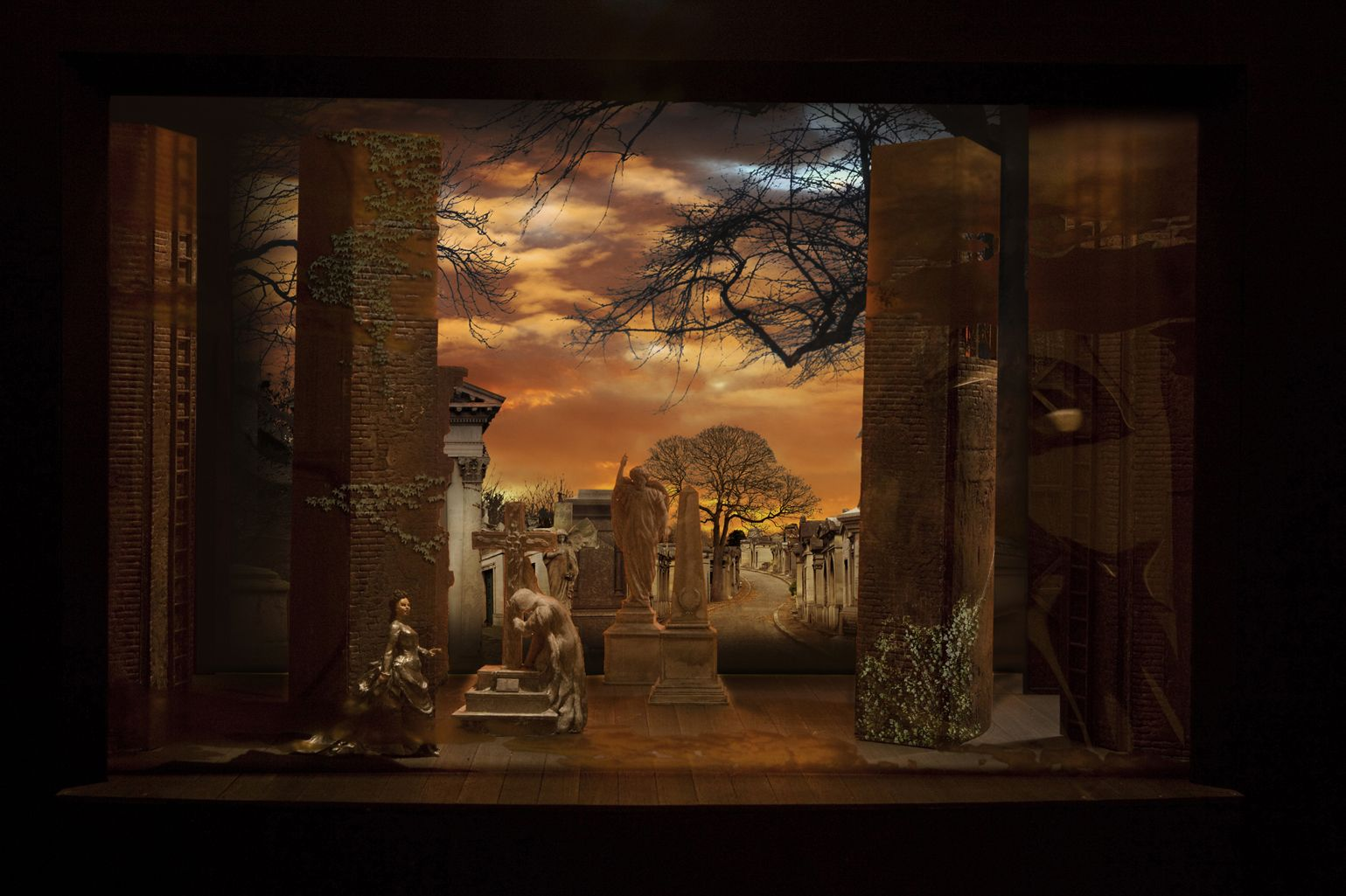 Phantom of the opera stage