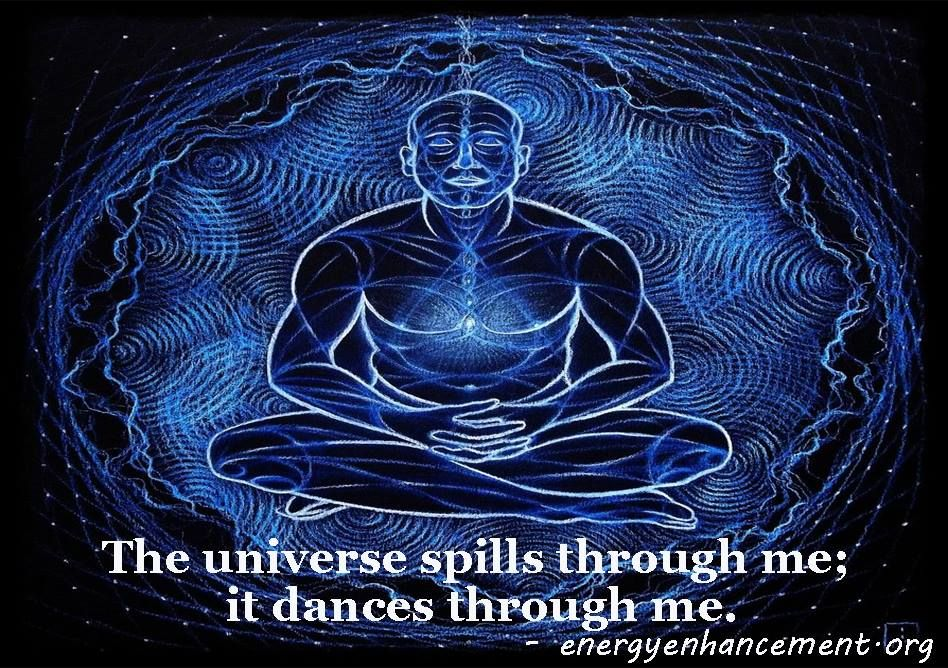 There are moments of mindlessness in #meditation. There are feelings and scenes that cannot be described in words. The universe spills through me; it dances through me.