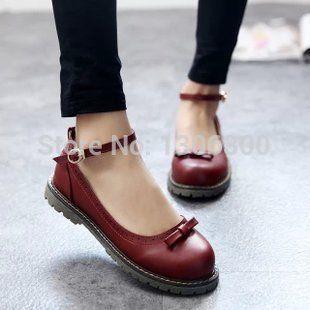 Cheap Nuevas mujeres zapatos Oxford Vintage Bowtie pisos zapatos del verano dulce zapatos de punta redonda del instituto británico de estilo estudiantes zapatos Oxford, Compro Calidad Planos directamente de los surtidores de China: Nuevas mujeres Oxford Zapatos Bowtie zapatos de los planos de la vendimia verano dulce zapatos de punta redonda esti