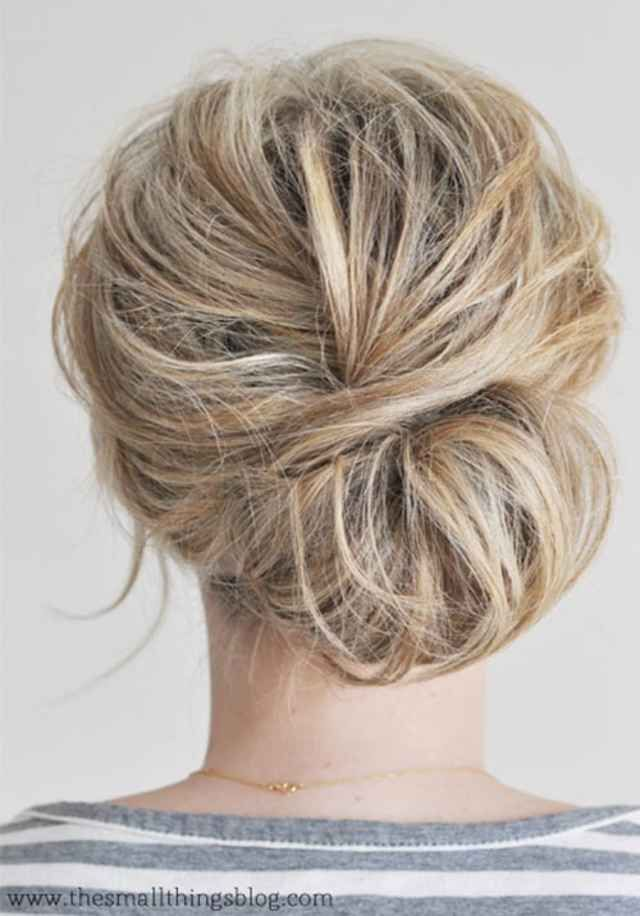 Cool Updo Hairstyles For Women With Short Hair With Images Chignon Hair Hair Styles Hair Beauty