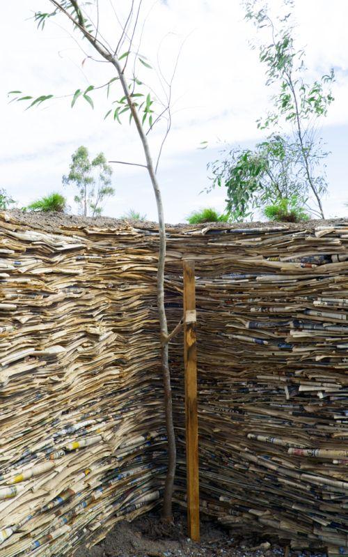 Steven Siegel landscape installation - Paper