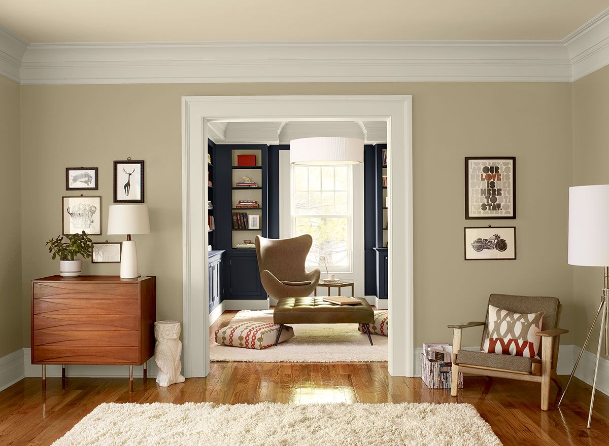 Living Room Colors Benjamin Moore benjamin moore shaker beige reviews | kitchen & dining room