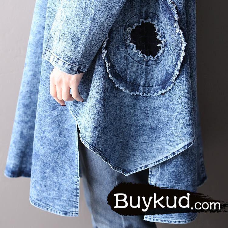 """Material: CottonSize: one size(fit for EU36~40,US6~10,UK8~12)color: blueLength: 94 cm / 37.01 """"Shoulder: 39 cm / 15.35 """"Bust: 114 cm / 44.88 """"Sleeve Length: 56 cm / 22.05 """"Cuff: 28 cm / 11.02 """"Hem: 180 cm / 70.87 """"Arm: 40 cm / 15.75 """"Hips: 174 cm / 68.50 """""""