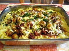 Rosenkohlauflauf mit Hackfleisch und Kartoffeln von maeuzi | Chefkoch #brusselsproutrecipes