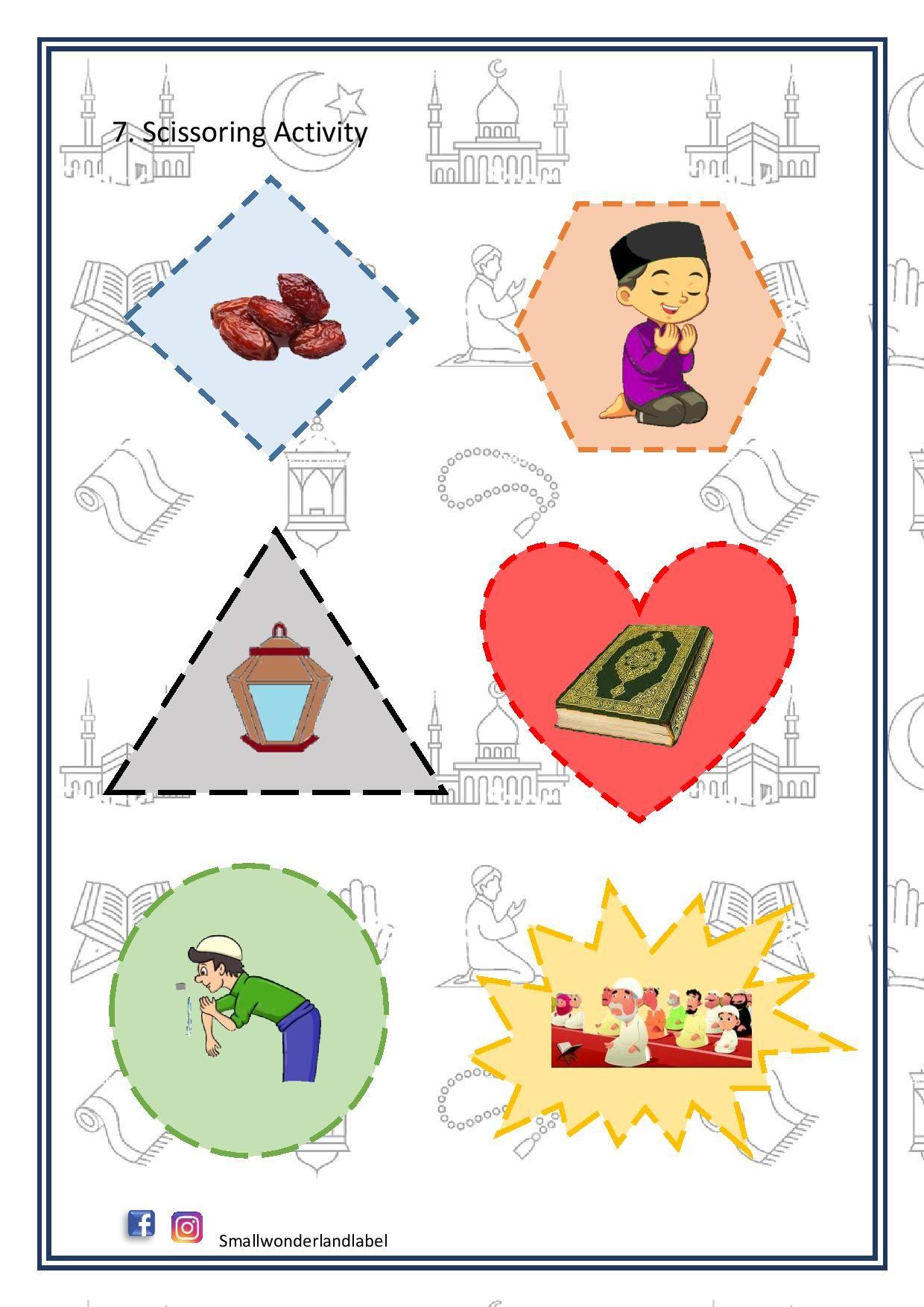 25 Ramadan Activity Pack Worksheet 42 Pages Digital