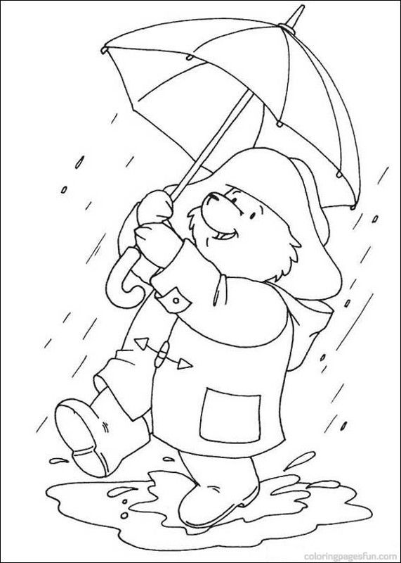 Paddington Bear Coloring Pages 16 Free Printable Coloring Pages