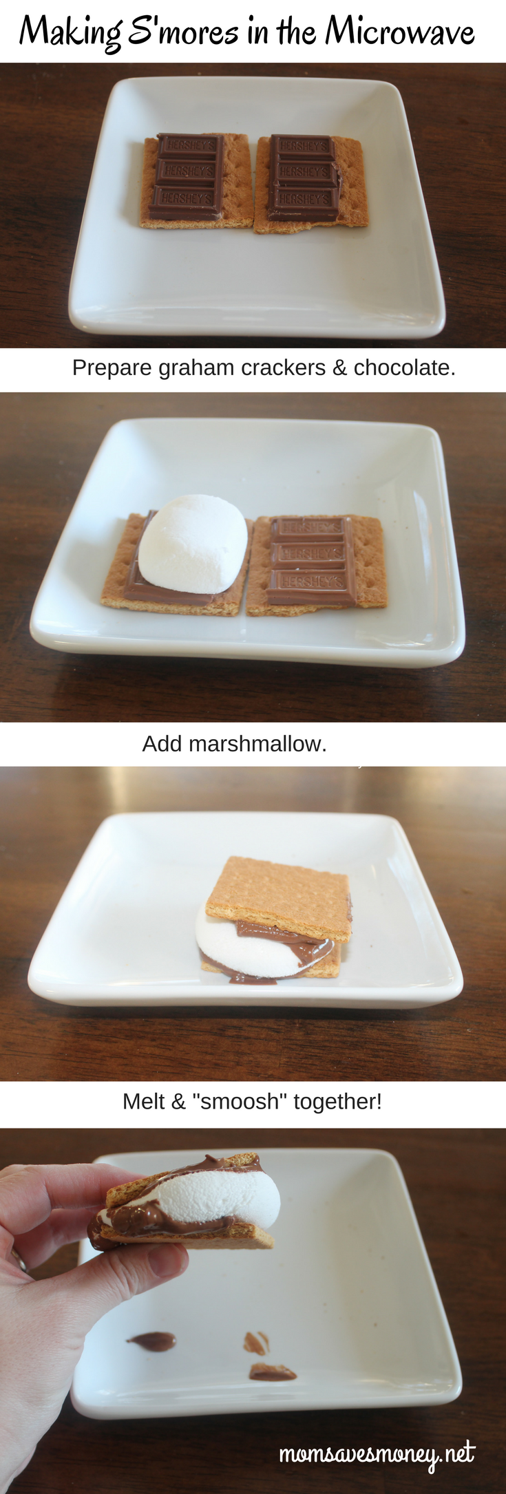 how to make s mores in the microwave