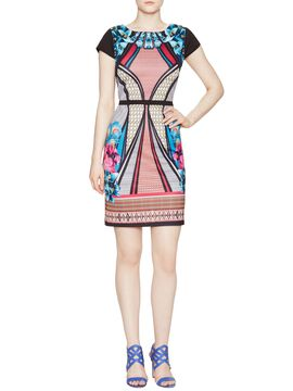 Printed Sheath Dress from Perfect Summer Dresses on Gilt