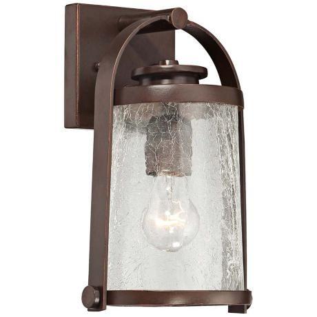 Travessa Bronze 11 High Small Outdoor Wall Light 2n141 Lamps Plus Wall Lights Outdoor Wall Light Fixtures