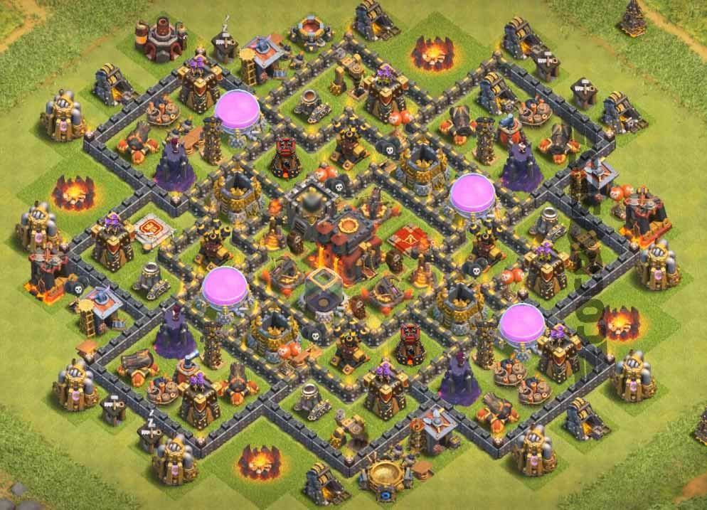 Base Coc Th 10 Farming Terkuat 11
