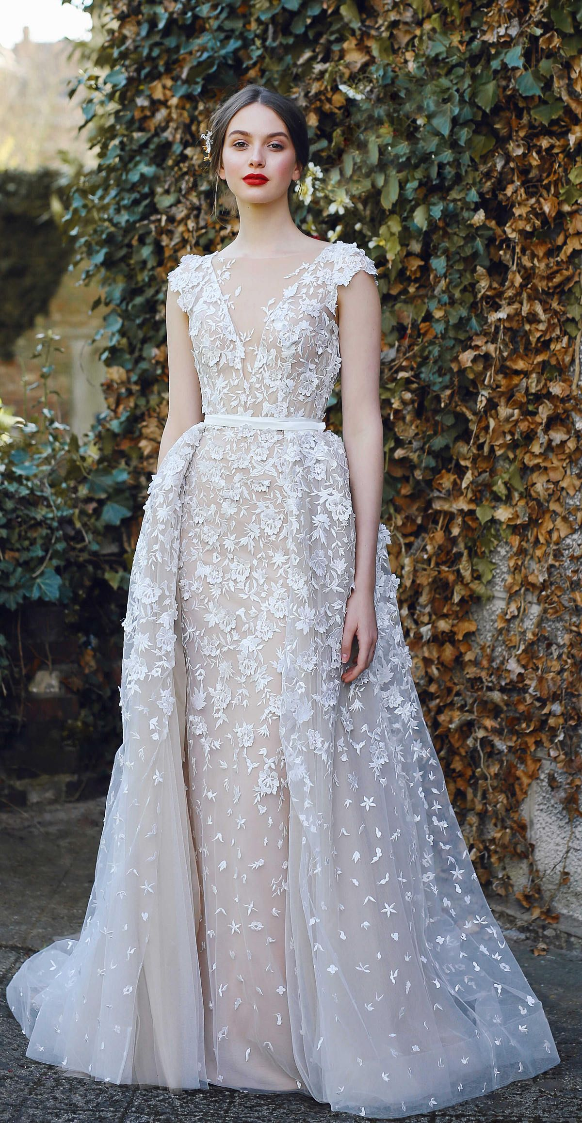 Simple lace dress styles  Bridal gown VELARI wedding dress unique wedding gown lace wedding