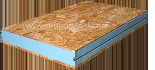 Panel madera tablero hidrofugo nucleo poliestireno - Tablero dm hidrofugo ...