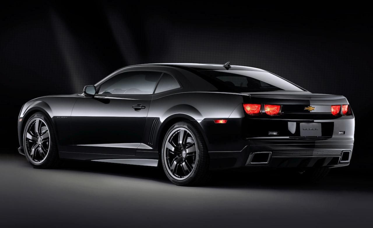 Dream Whip Black On Black Camero Chevrolet Camaro Black