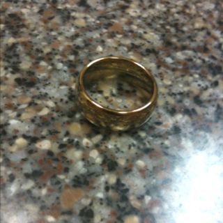 The One ring of Sauron.